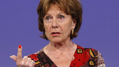 Neelie Kroes zegt Fuck You.