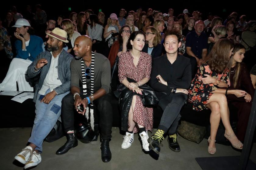 Je weet dat je modeshow geslaagd is als er front row een gekkie uit GTST zit. Chapeau!